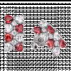 Bông tai bạc PNJSilver Fantasia đính đá màu đỏ 92657.404