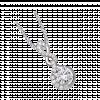 Mặt dây chuyền bạc PNJSilver Fantasia đính đá 92681.100