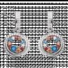 Bông tai bạc PNJSilver Fantasia mix đá màu 92791.406