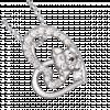 Mặt dây chuyền bạc PNJSilver hình con heo 98364.000