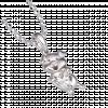 Mặt dây chuyền bạc PNJSilver hình con heo ôm trái tim 98367.000