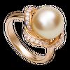 Nhẫn Vàng 18K đính ngọc trai South Sea PNJ PSDDY000005