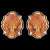 Bông tai Vàng 18K đính đá Citrine PNJ CT00Y000009
