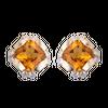 Bông tai Vàng 18K đính đá Citrine PNJ CTXMY000033