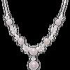 Dây cổ cưới Vàng trắng 14K đính ngọc trai Freshwater PNJ Ngọc Yêu Thương PFXMW000019