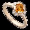 Nhẫn Vàng 18K đính đá Citrine PNJ CTXMY000203
