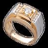 Nhẫn nam Kim cương Vàng 18K PNJ DDDDC000048