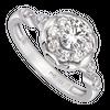 Nhẫn Kim cương Vàng trắng 14K PNJ DDDDW003709