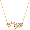 Dây cổ Vàng 10K đính đá ECZ Swarovski PNJ Mystery XMXMC000020