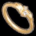 Nhẫn PNJ Mystery Vàng 10K đính đá ECZ Swarovski 87608.100