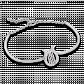 Vòng tay bạc hình cây đàn PNJSilver Music Lovin' đính đá