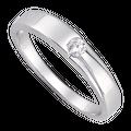 Nhẫn bạc đính đá PNJSilver XM00K000087