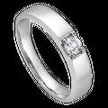 Nhẫn cưới Kim cương nam PNJ Vàng Son Vàng trắng 14K 76535.5A3