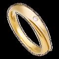 Nhẫn cưới Kim cương PNJ Vàng Son Vàng 18K 60721.5A0