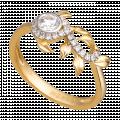 Nhẫn PNJ Mystery Vàng 10K đính đá ECZ Swarovski 87713.100