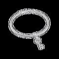 Vòng tay bạc Ý đính đá PNJSilver