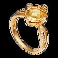 Nhẫn Vàng 18K đính đá Citrine PNJ CTXMY000198