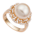Nhẫn PNJ Vàng 18K Đính Ngọc trai South Sea 90253.304