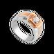 Nhẫn nam Kim cương Vàng 18K PNJ DD00H000021