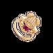 Nhẫn Vàng 18K đính đá màu đỏ PNJ ZTXMY000290