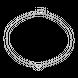Dây cổ Kim cương Vàng trắng 14K PNJ DD00W000107