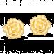 Bông Tai cưới PNJ Tình Hồng Vàng 24K