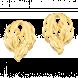 Bông tai cưới PNJ Thiên Duyên Vàng 24K