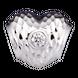Hạt Charm Me Vàng trắng Ý 18K đính đá CZ PNJ hình trái tim XM00W000032