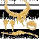 Bộ Trang sức cưới PNJ Bốn Mùa Yêu Thương vàng 24K