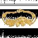 Lắc tay cưới PNJ Bốn Mùa Yêu Thương Vàng 24K