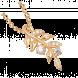 Mặt dây chuyền PNJ Mystery Vàng 10K đính đá ECZ Swarovski 84557.100
