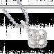 Mặt dây chuyền Kim Cương PNJ First Diamond Vàng trắng 14K