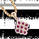 Mặt dây chuyền PNJ Phượng Hoàng Vàng 18K đính đá Ruby 82008.600