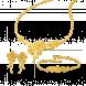Bộ Trang sức cưới PNJ Hoa Duyên Vàng 24K