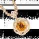 Mặt dây chuyền PNJ Vàng 18K đính đá Citrine 58216.601