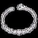 Lắc tay bạc trái tim PNJSilver đính đá
