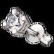 Bông tai nam bạc đính đá PNJSilver My Man XM00K000180