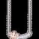 Dây cổ bạc đính đá PNJSilver My Princess XM00K000074