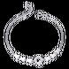 Lắc tay bạc đính đá PNJSilver XM00K000017