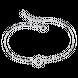 Lắc chân bạc đính đá PNJSilver XM00K000028