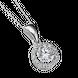 Mặt dây chuyền bạc đính đá PNJSilver XMXMK000062