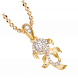 Mặt dây chuyền PNJ Mystery Vàng 10K đính đá ECZ Swarovski 87714.100