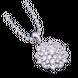 Mặt dây chuyền bạc đính đá PNJSilver