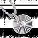 Mặt dây chuyền bạc hình nốt nhạc PNJSilver Music