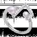 Nhẫn bạc hình nốt nhạc PNJSilver Music Lovein' đính ngọc trai 14139.200