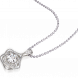 Mặt dây chuyền PNJ Galaxy Vàng trắng 10K đính đá ECZ 87586.100