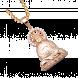Mặt dây chuyền PNJ vàng 18K đính đá CZ
