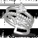 Nhẫn PNJ Galaxy Vàng trắng 10K đính đá ECZ 87531.100