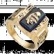 Nhẫn Nam PNJ Vàng 10K đính đá Synthetic