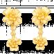 Bông tai cưới PNJ Vàng 24K
